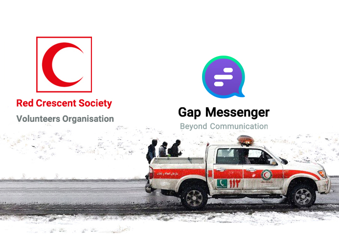 Agreement between Gap Messenger and of Red Crescent Volunteers Organization
