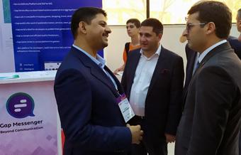 استقبال وزیر فناوری ارمنستان از تواناییهای گپ